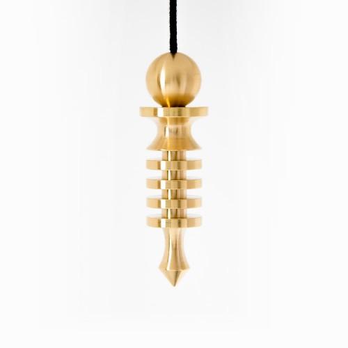 Isis Small 4 Discs Gold Pendulum