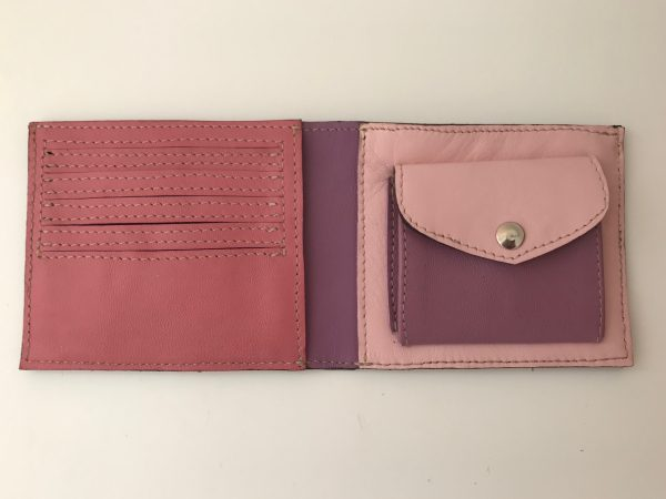 Håndlavet pung i genanvendt skind fra BAKANO design