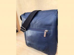 bæredygtig taske af upcycled læder. Håndlavet i Danmark
