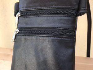 Håndlavet taske i genanvendt skind fra BAKANO design