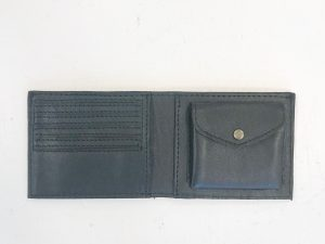 bæredygtig tegnebog i skind