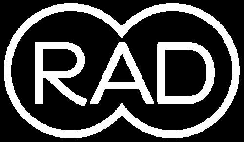 RAD LOGO (white)