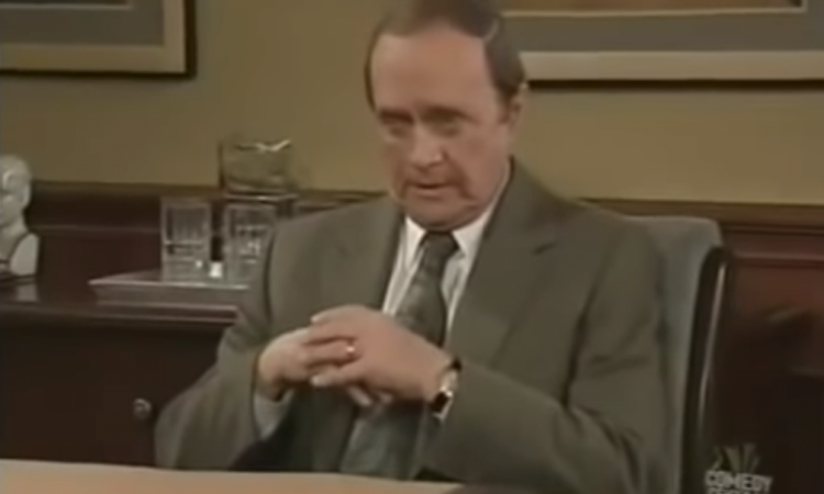 Stop it Bob Newhart