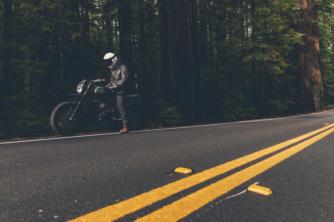 Vittne till motorcykelolycka