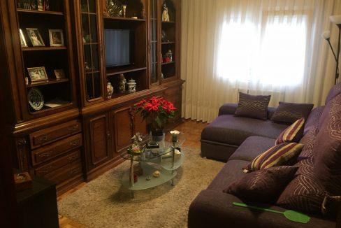 Salón - Piso en venta 3 habitaciones a 200 m de la playa de San Lorenzo - Gijón