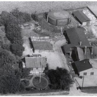 Luftfoto af Gæsværket
