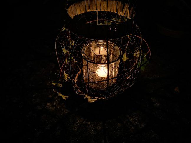 Stearinlys udendørs