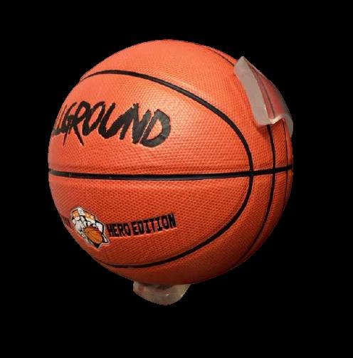 BallOnWall Klar Basketballholder