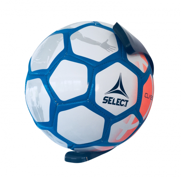 5 stk BallOnWall Sort Fodboldholder