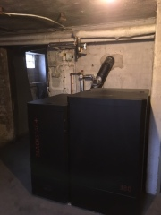 Pelletspanna BS+ 16 kW i Tomelilla
