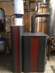 Pelletspanna RTB 30 kW i Tomelilla