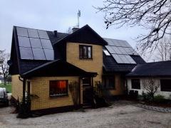 Solcellsanläggning 5,25 kWp i Löderup