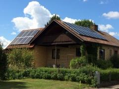 Solcellsanläggning 5,83 kWp i Tomelilla