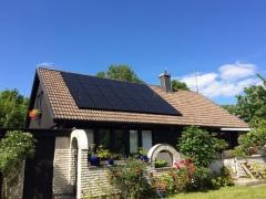 Solcellsanläggning 6,2 kWp i St. Herrestad