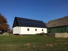 Solcellsanläggning 7,68 kWp i Vallösa