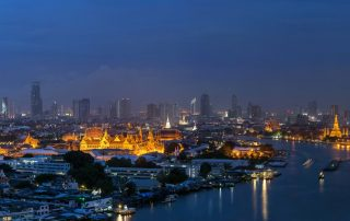Bangkok Skyline by night