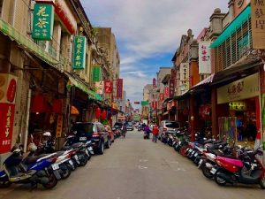 Taipei city bike tour