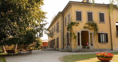 Du kan bo i historisk villa i Italien