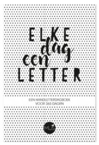 Elke dag een letter - handlettering boekje