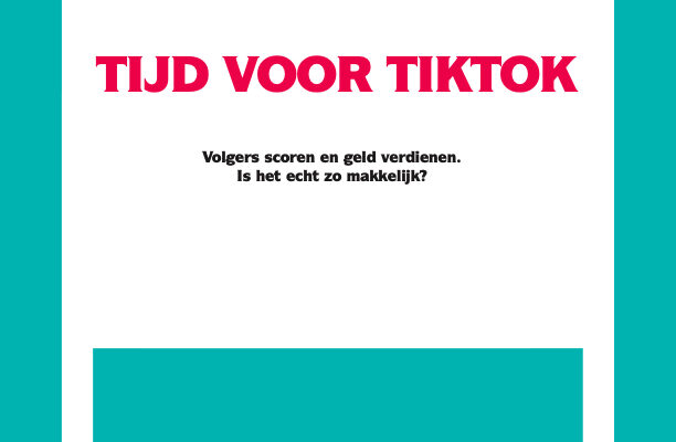 Cover boek TikTok. F*ck Facebook. Tijd voor TikTok. Geschreven door Barbara Dot.