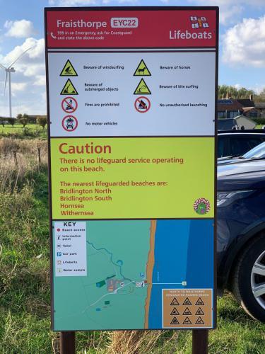 Fraisthorpe Beach Information