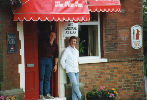 Barry Wilkinson; Chef Owner the New Inn - Needwood 1993