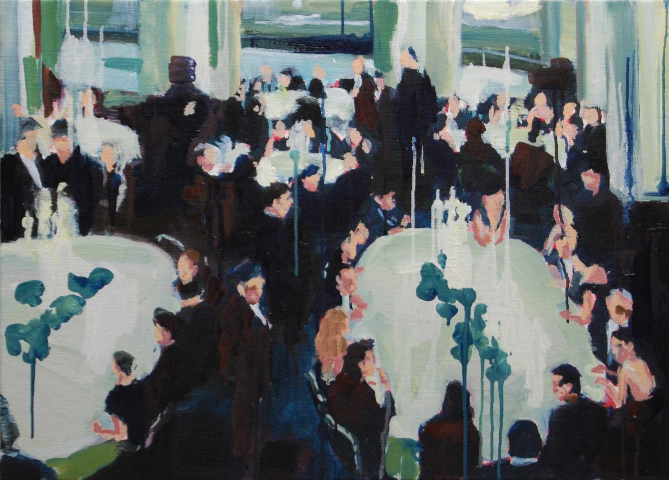 le banquet du fric et des nichons - Grote Prijs Alfons Blomme 2009 © Bart Vinckier