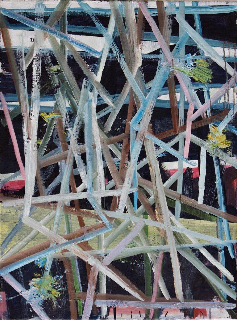 la flatterie ne nous menera nulle part oil painting by Bart Vinckier
