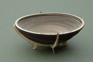 Laser cut bowl