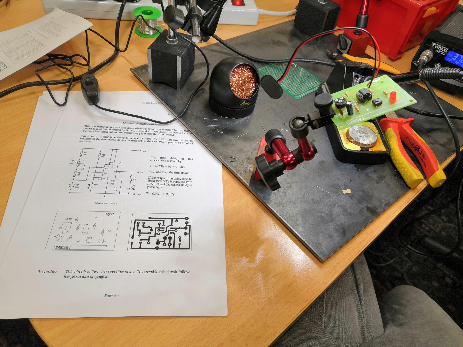 Free mini soldering kit