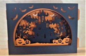 3D Halloween Box Card