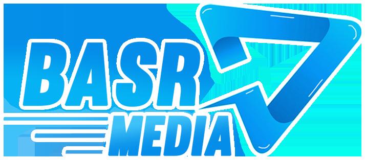logo BASR Media witte lijnen