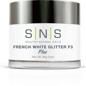French white glitter F3
