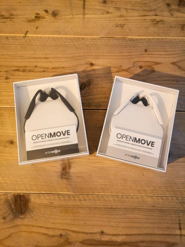 De OpenMove is beschikbaar is twee kleuren: grijs en wit