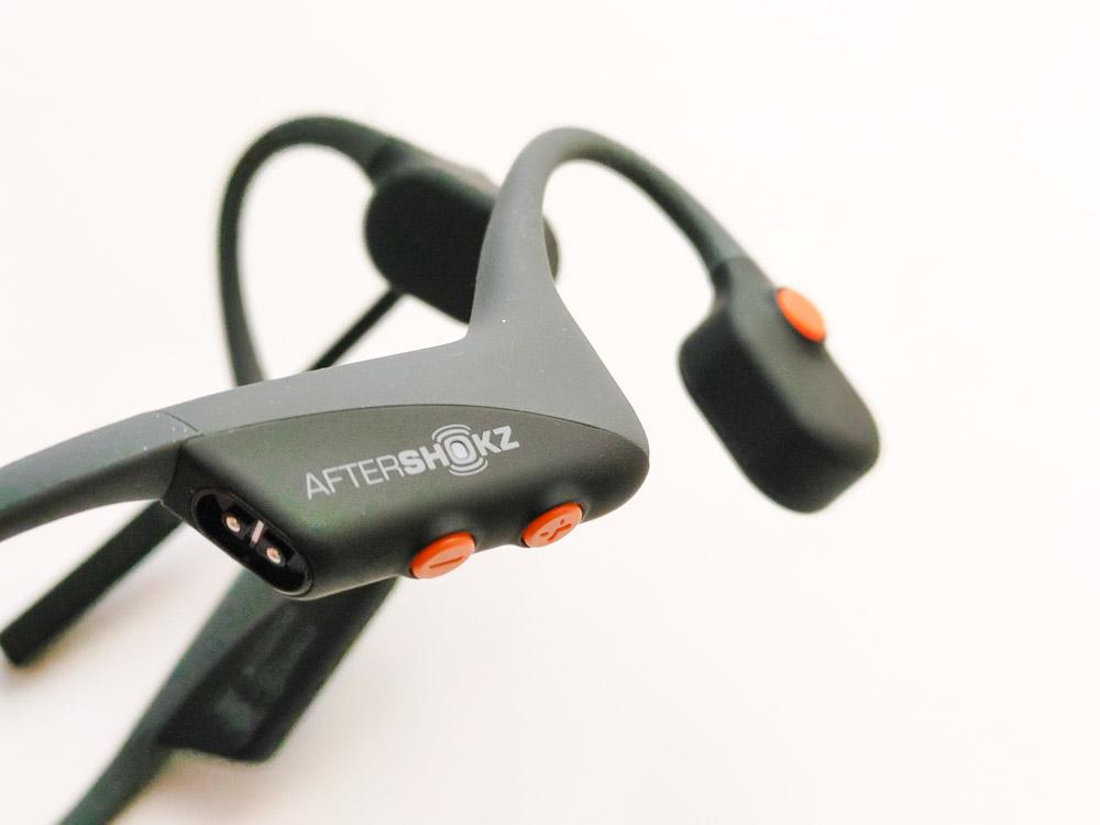 AfterShokz OpenComm draadloze bluetooth headset met microfoon