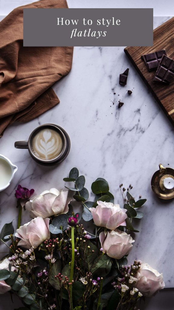 How to style the perfect flatlay for Instagram