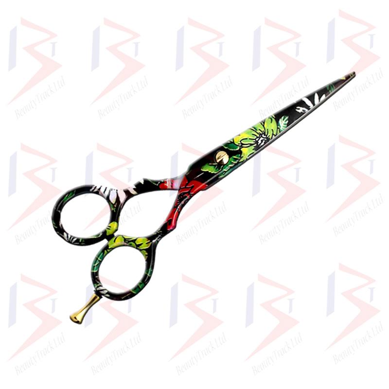 BeautyTrack Hairdressing Scissor Set Salon Shears 5.5 Stylish Design 1