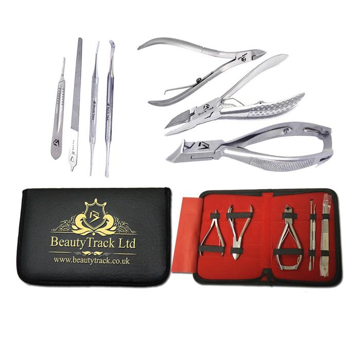 Nail Care Clipper Cutter Manicure Pedicure Tools 7 PCS
