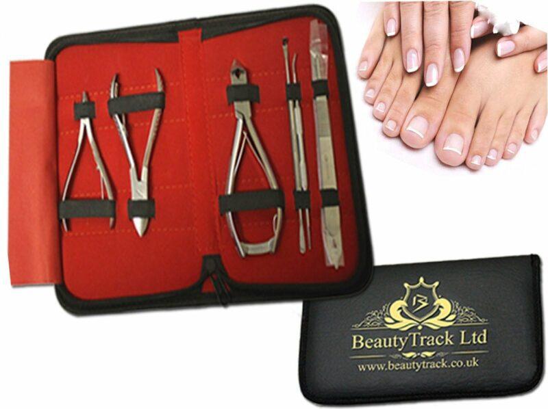 Nail Care Clipper Cutter Manicure Pedicure Tools 7 kit