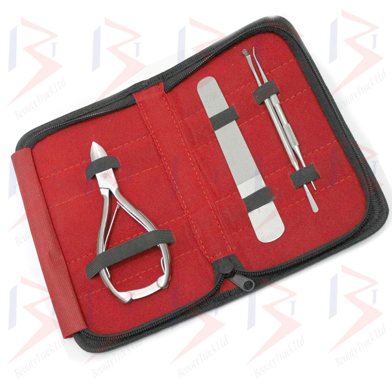 BeautyTrack Podiatry Instrument Nail Nipper Set 6