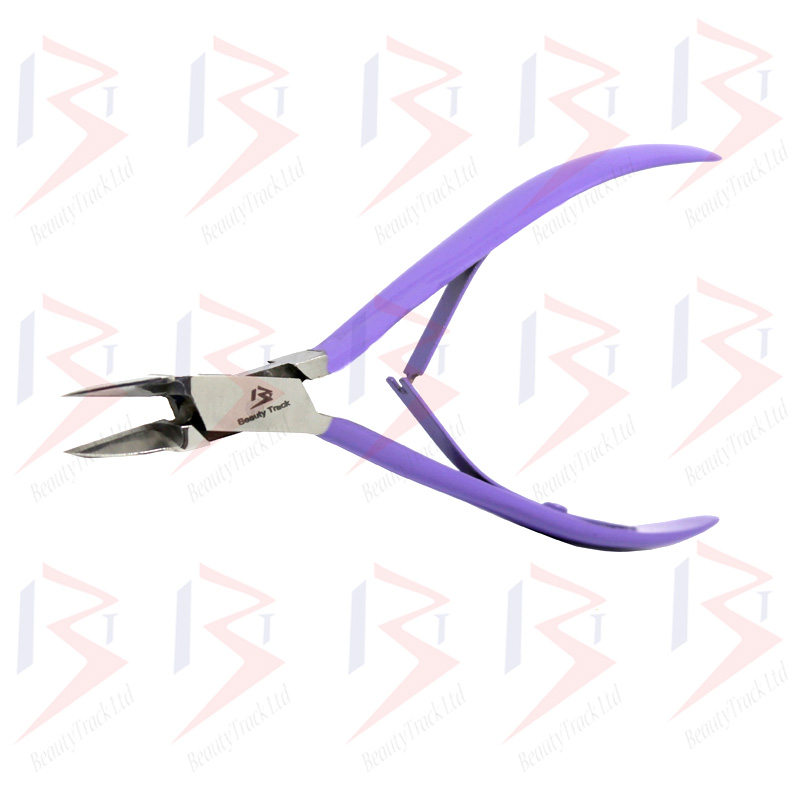Ingrown Nail Nipper Podiatry Clippers Fine Pointed Purple (12cm) 2