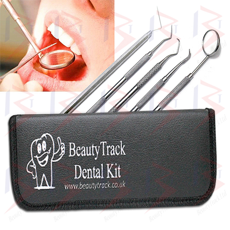 BeautyTrack Dental Care Kit For Professional Teeth Cleaning Set 4