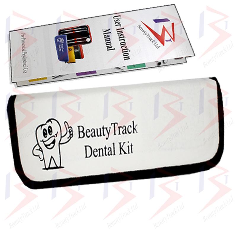 BeautyTrack Dental Dentist Scaler Set Tweezers Instruments Pick Tool Kit 4