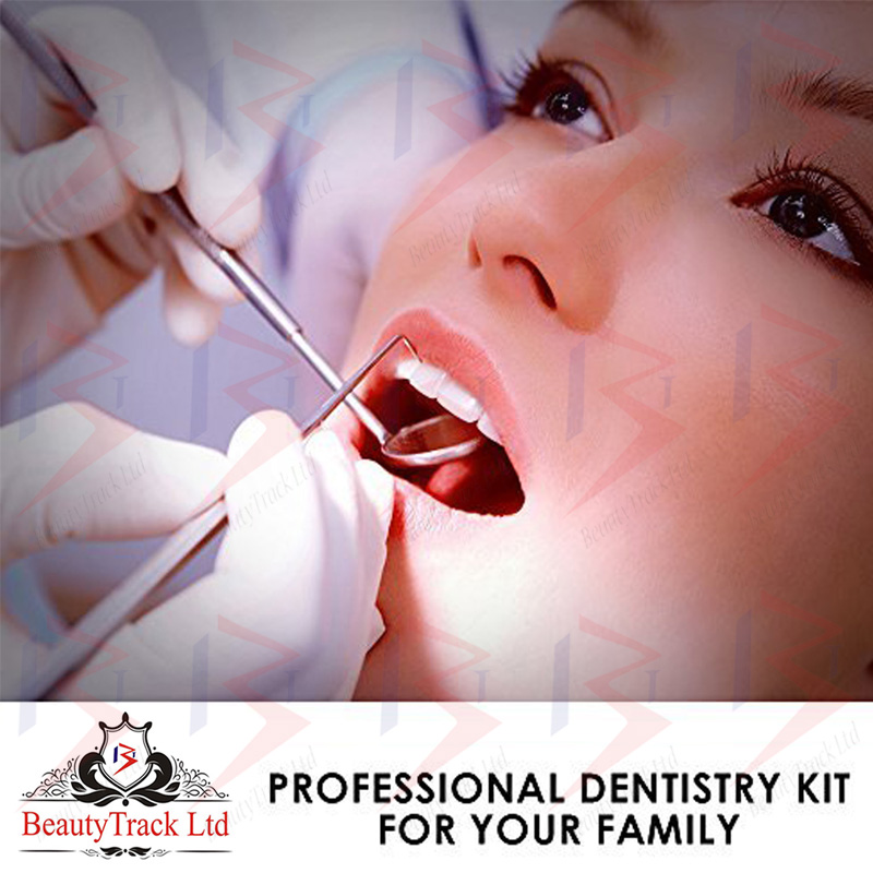 BeautyTrack Dental Oral Hygiene Care Kit For Dentists & Home Use 3