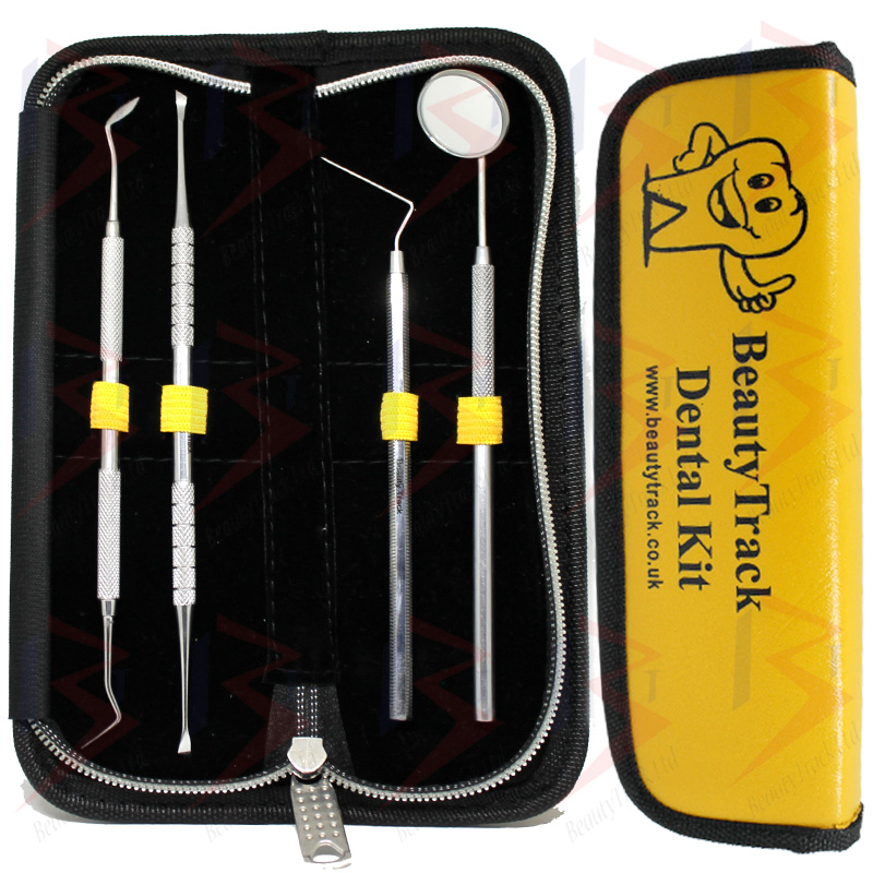 BeautyTrack Dental Pick Floss Tartar Plaque Calculus Remover Kit 1