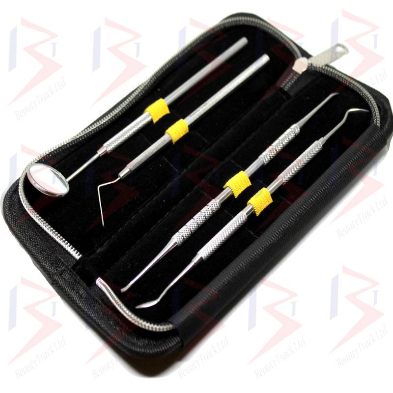 BeautyTrack Dental Pick Floss Tartar Plaque Calculus Remover Kit 3