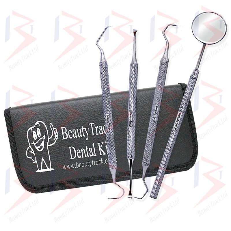 BeautyTrack Dental Set Dentist Scaler Instruments Pick Tool Kit 5