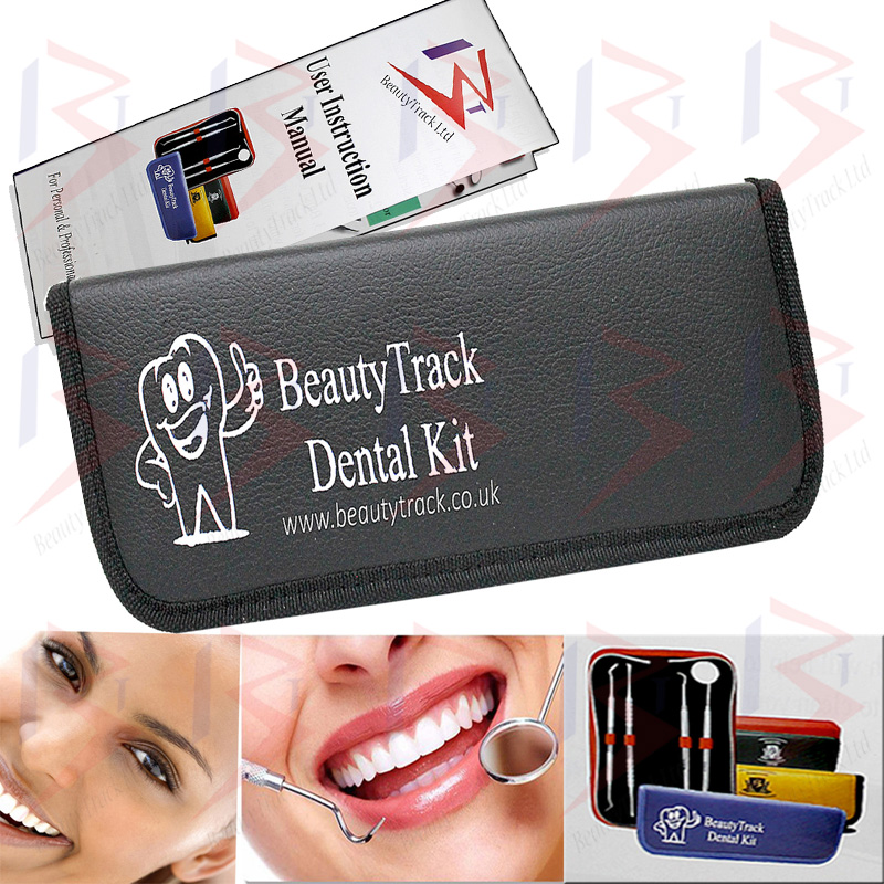 BeautyTrack Dental Set Dentist Scaler Instruments Pick Tool Kit 6
