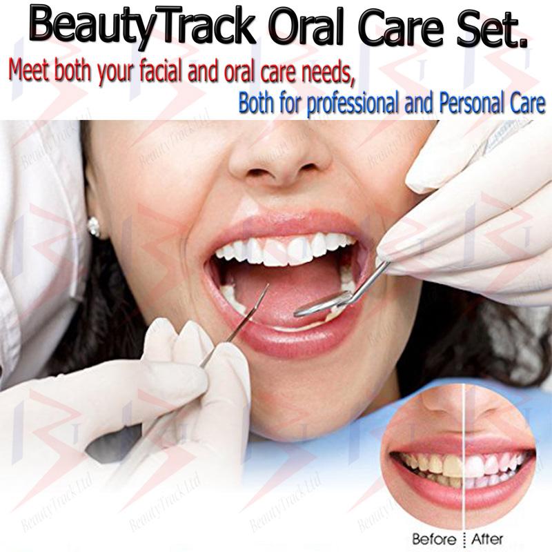 BeautyTrack Dental Tooth Cleaning Kit Dentist Scraper Pick Tool P7 3
