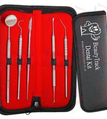 BeautyTrack Professional Dental Tartar Remover,Scraper,Mirror Set 1